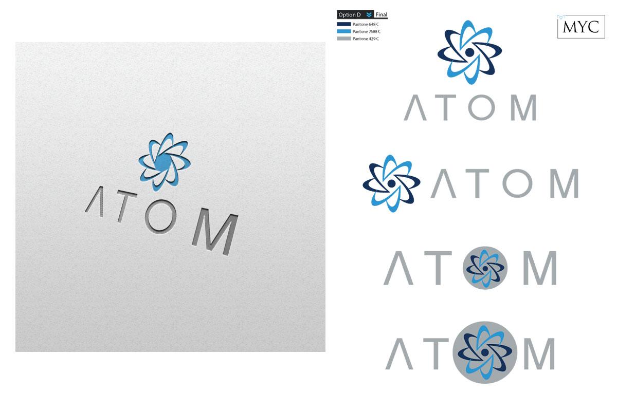Atom Branding logo