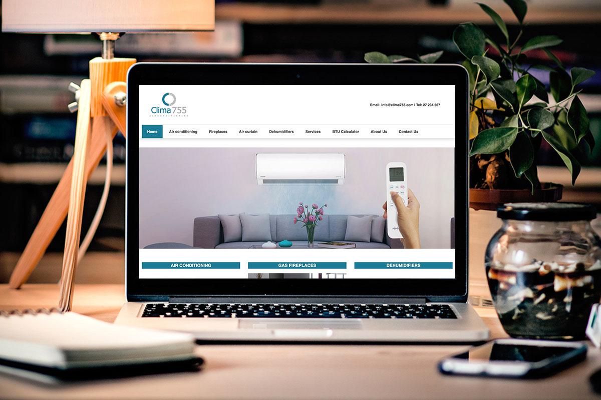 Clima755 Website