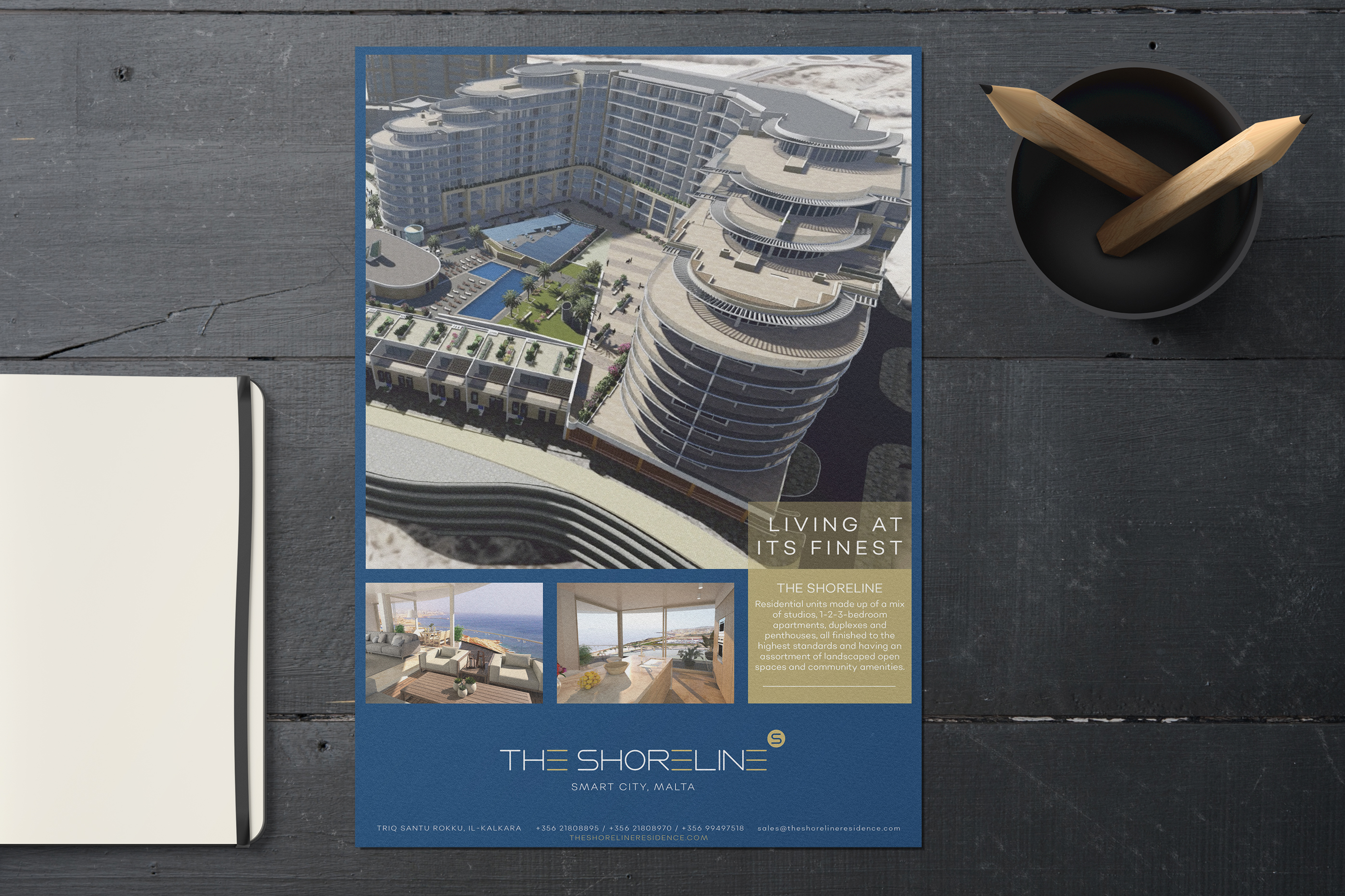 The Shoreline image design