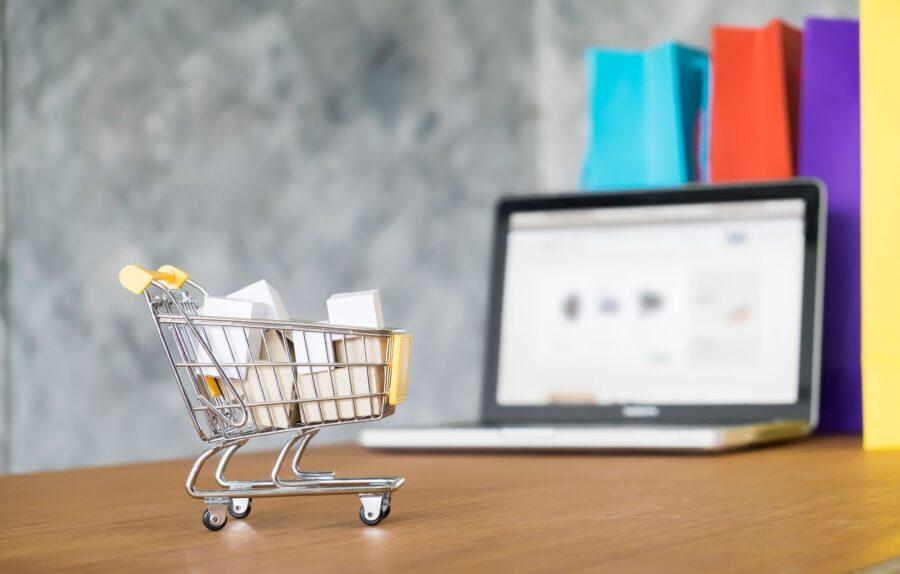 box market electronic ordering shop basket 1